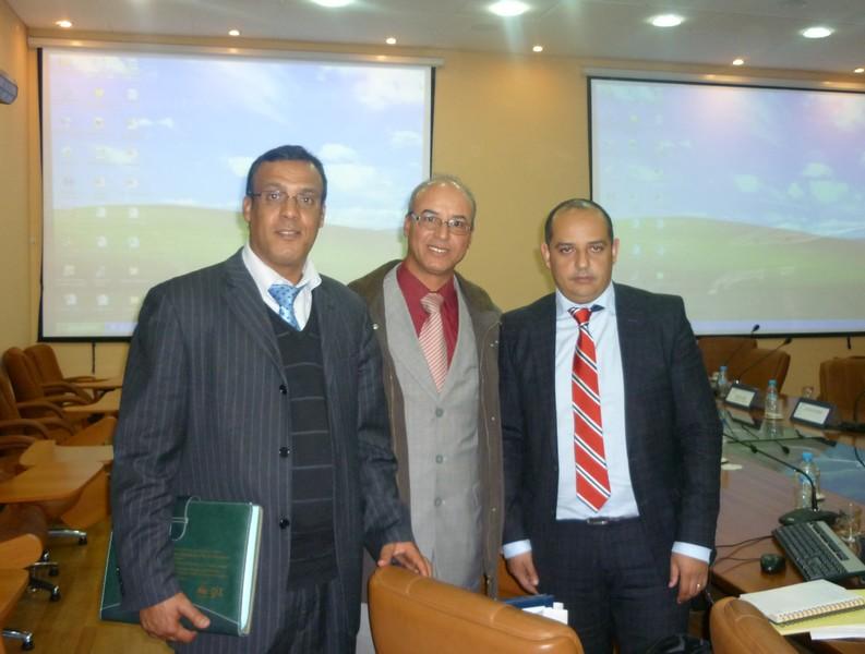 Chefs de la pêche continentale à l'échelle nationale, Abouabdallah au milieu